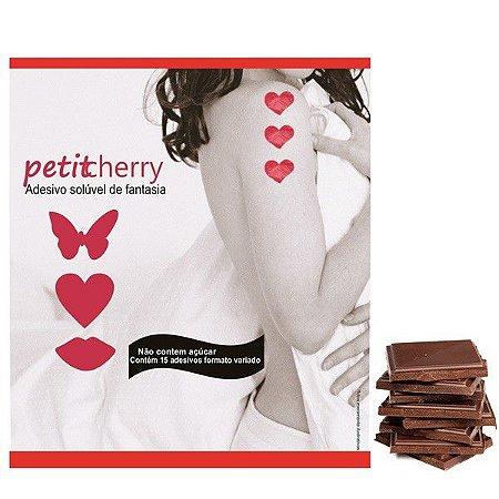 Adesivo Comestível - Caminho do Amor- Chocolate - 15 Pçs