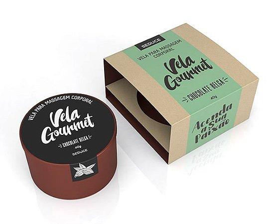 Vela Gourmet - Chocolate Belga - Beijável