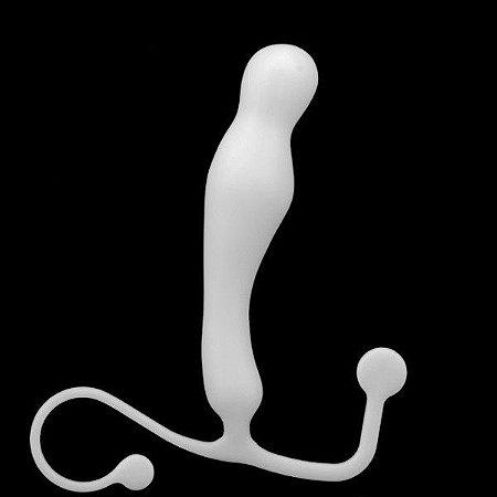 Massageador de Prostata G-Slim - Branco - Ktoy
