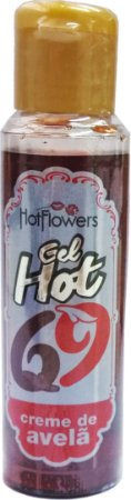 Gel Aromatizante Creme de Avelã - Hot - Sexo Oral - 35ml Hot Flowers
