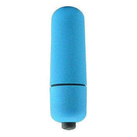 Cápsula Vibratória 10 Velocidades -  Petit Vibe Blue - Absoloo