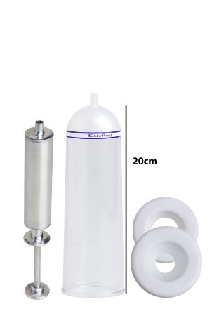 Bomba Peniana Peneflex - Tubo 20 x 6,2 cm - Seringa em Alumínio