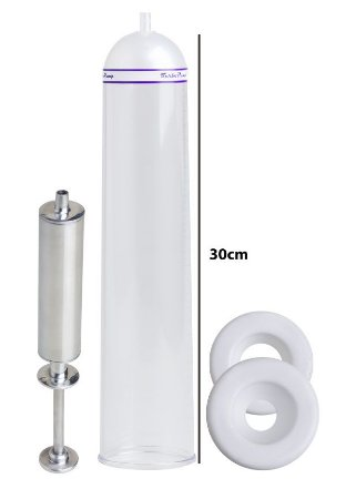 Bomba Peniana Peneflex - Tubo 30 x 6,2 cm - Seringa em Alumínio