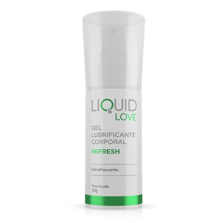 Liquid Love - Refresh - Gel Lubrificante Corporal*