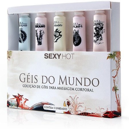 Kit Géis do Mundo - 5 bisnagas