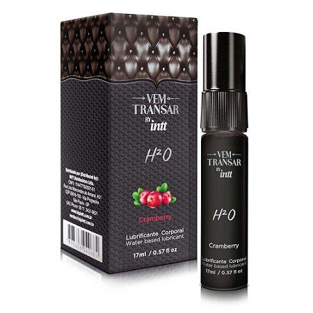 Vem Transar H²O - Lubrificante Comestível à Base de Água - 15 ml | Sabor: Cramberry