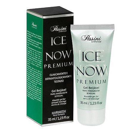 ICE NOW PREMIUM MARRAKESH - Gel térmico beijável sabor menta 35ml - Pessini