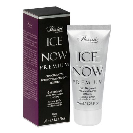 ICE NOW PREMIUM UVA - Gel térmico beijável sabor uva 35ml - Pessini