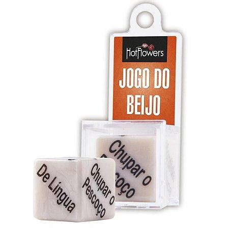 Dado Jogo do Beijo 1 unid. - Hot Flowers