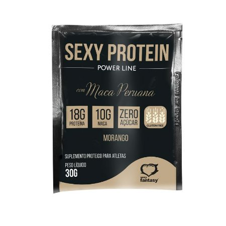 Whey Sexy Protein com Maca Peruana - Morango