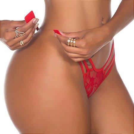 Fio Dental Lap Dance - Pimenta Sexy-Vermelho