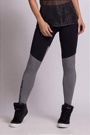 Legging 25700372 - Preto/Mescla - P - COLCCI
