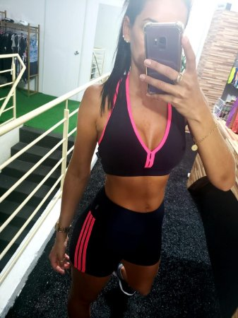 Top Fitness Detalhe Costas