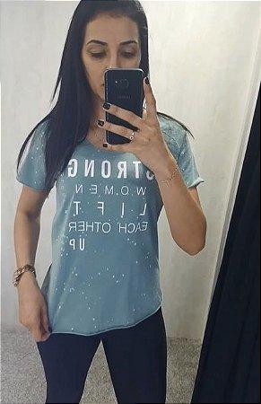 Camiseta Estampada Verde 345700093  - Colcci