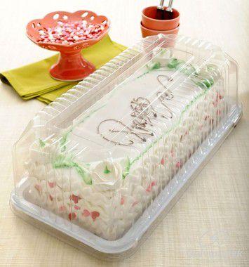 Embalagem para bolo / torta / baguete 2kgs pacote com 10 unidades - G65 M - Galvanotek