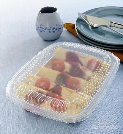 Embalagem pote para freezer e microondas 1000Ml - caixa com 100 unidades - G 301 - Galvanotek
