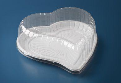 Embalagem Bolo, Torta Coração - 1,5Kg - Galvanotek G 50 H - pacote com 10 unidades