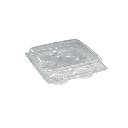 Embalagem PET 4 Doces - Sanpack S15 - caixa com 100 Unidades