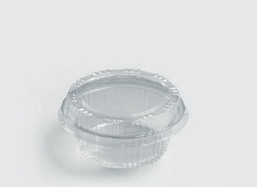 Embalagem PET Doce redondo caixa com 300 unidades - S640 - Sanpack