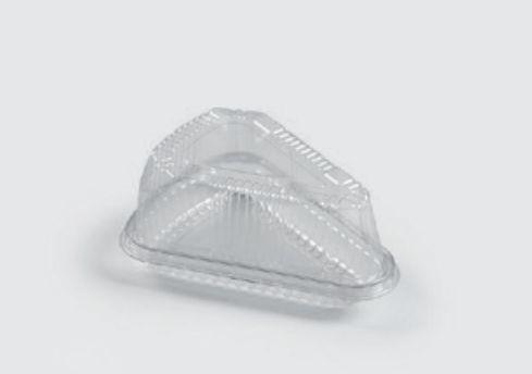 Embalagem PET  Fatia de torta - Sanpack S630 - caixa com 100 unidades