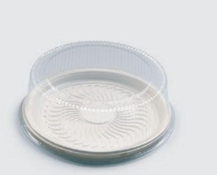 Embalagem PET  Torta média - Sanpack S56 caixa com 50 Unidades