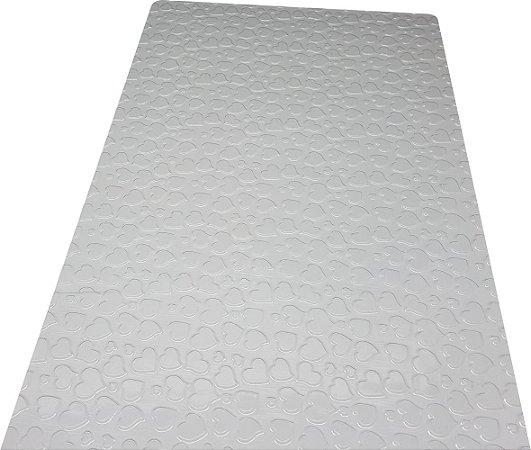 Placa de textura coração unidade  - 9376 BWB