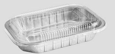 Bandeja SW783 caixa com 25 unidades - com tampa PET  - 783ML - Microondas / Forno / Freezer - Wyda