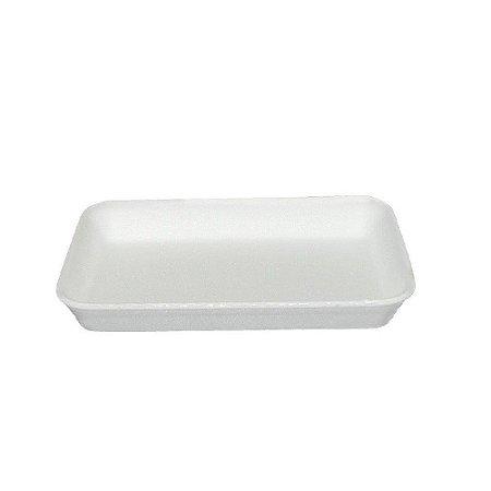 Bandeja B2 branca fardo com 400 unidades - Rasa para frios - Ultra