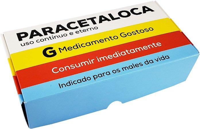 Caixa practice (8 doces) paracetaloca pacote com 10 - Ideia