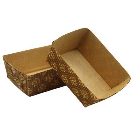 Forma para torta quadrada pacote com 10 - Petropel