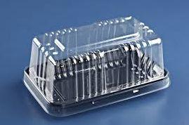 Embalagem preta mini torta caixa com 150 unidades - G62m - Galvanotek