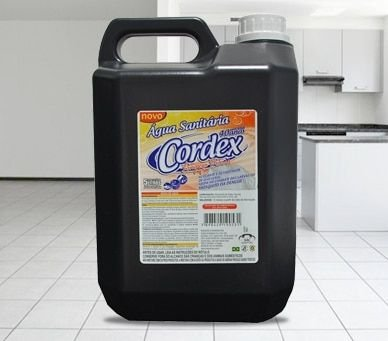Água sanitária - 5lt - Cordex