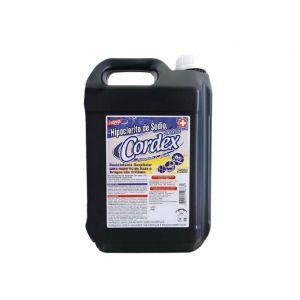 Hipoclorito de sódio - 5l - Cordex