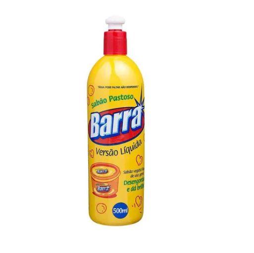 Sabão pastoso versão líquida - 500ml - Barra