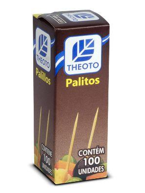 Palito dental caixa 20x25x100 - Theoto