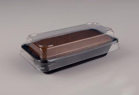 Forma retangular preta com tampa - caixa com 100 unidades - G220 - Galvanotek