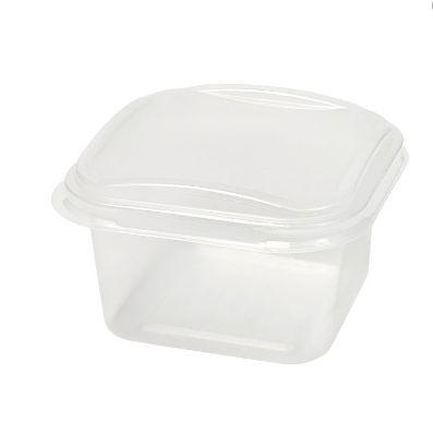 Pote quadrado para freezer/microondas 150ml caixa com 360 - G375 - Galvanotek