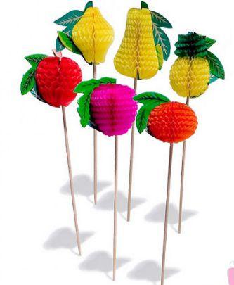 Palito frutas pacote com 10 unidades - Theoto