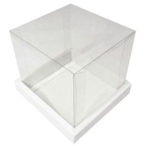 Caixa para bolo 20x20 branco - Assk