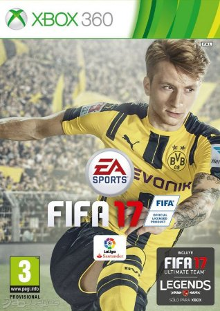 Game FIFA 17 - Xbox 360