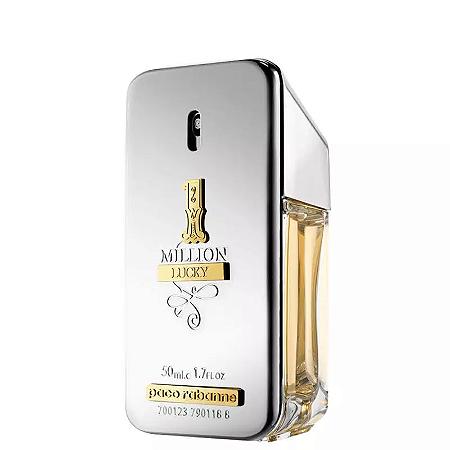 1 Million Lucky Paco Rabanne Eau de Toilette 50ml - Perfume Masculino