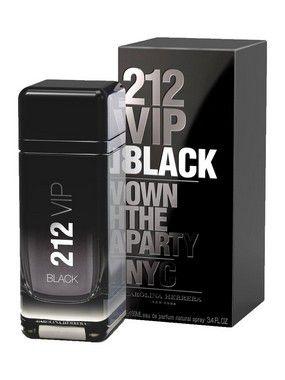 212 VIP Black Eau de Parfum Carolina Herrera 100ml - Perfume Masculino