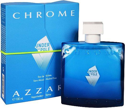 Azzaro Chrome Under The Pole Eau de Toilette 100ml - Perfume Masculino