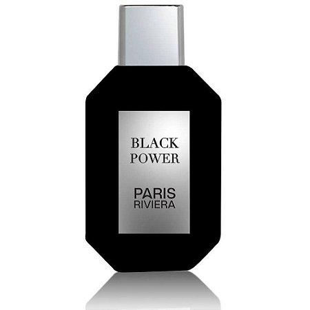 Black Power Eau de Toilette Paris Riviera 100ml - Perfume Masculino