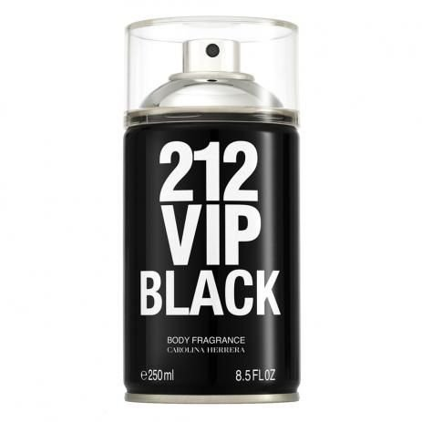 Body Spray 212 VIP Black Carolina Herrera 250ml - Masculino