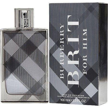 Burberry Brit For Men Eau de Toilette 100ML - Perfume Masculino