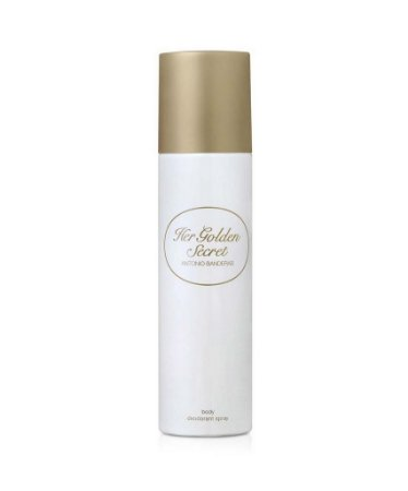 Desodorante Feminino Her Golden Secret Antonio Banderas - 150ml