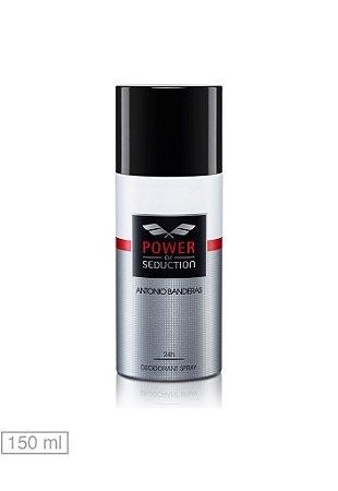 Desodorante Power of Seduction  Antonio Banderas - Masculino 150ml