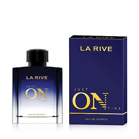 Just on Time Eau de Toilette La Rive 100ml - Perfume Masculino
