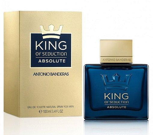 King of Seduction Absolute EDT Antonio Banderas 100ml - Perfume Masculino